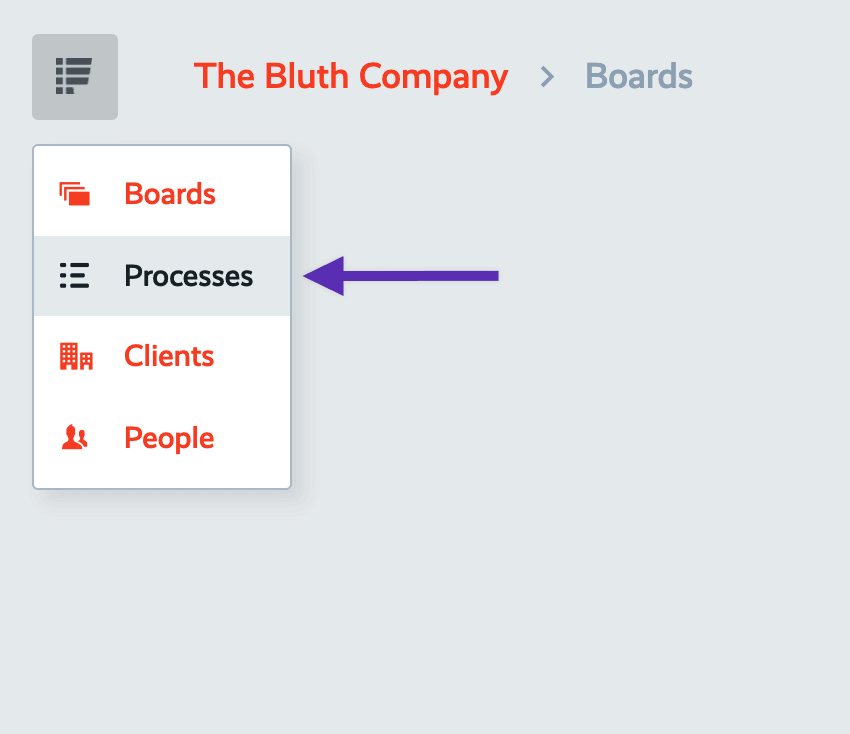 process navigation